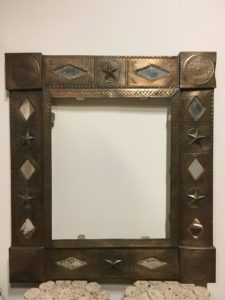 Tin Frame Texas Star